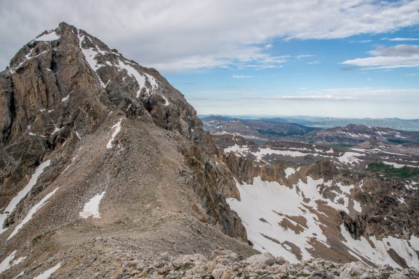 Lower Saddle, Middle and Grand Teton