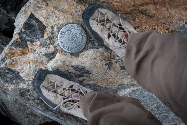 Summit pin, Grand Teton